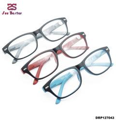 Super ligero diseño exclusivo de plástico barato bisagra de la primavera gafas de lectura