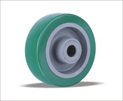 Polyuréthane prix d'usine roues avec le Centre de PP