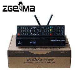 Sintonizzatori gemellare combinati 2*WiFi di OS E2 DVB-S2X+T2/C di decodifica Zgemma H9 Linux di Digitahi Hevc/H. 265 interni