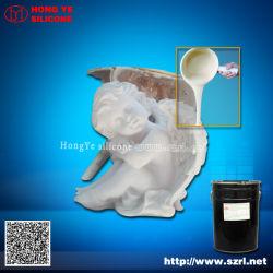 Liquide de la fabrication de moules en caoutchouc de silicone blanc