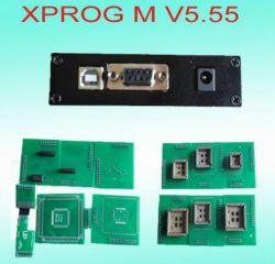 Programmatore universale del chip di Eeprom, versione Xprog m. V5.55 dell'aggiornamento di Xprog 5.50