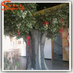 مصنع رخيصة حديقة حلية الاصطناعي لايف اللبخ شجرة