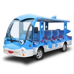 تصميم الدلفين 14 ساترات شاحن كهربائي تلقائي عالي التردد بالكامل حافلة مكوكية للبيع لمشاهدة معالم السيارة (DN-14)