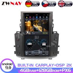 128 g de grande ecrã Tesla Car Multimedia player de DVD para o Lexus Lx570 2007 - 2015 o Android Rádio de Navegação GPS
