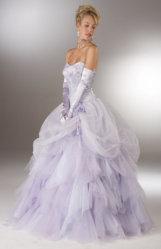 Vestido de novia vestidos de satén de seda (promlg)