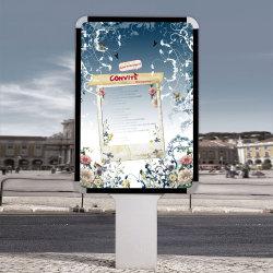 Het Beeld Lightbox van de Foto van pvc van de Reclame van de Vertoning van het Teken