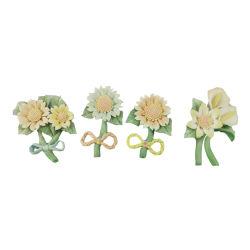 Фарфоровые цветы на кустарное производство керамических подсолнечника для проведения свадеб оформление