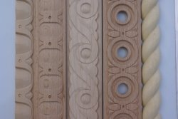 Ovo Integral esculpidas em madeira maciça e moldagem de DART