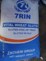 75 % de protéines de qualité alimentaire de la farine de gluten de blé Poudre Vital