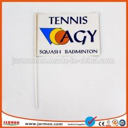Logotipo personalizado grossista Impressos promocionais bandeira do lado do papel