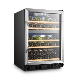 154L COMPRESOR zona doble ventilador enfriador de vino
