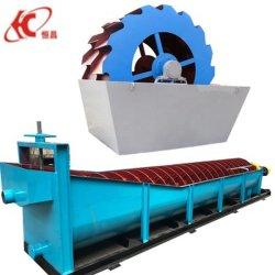 Modèle de grande capacité 100tph 50tph Caly de pierre de sable de la rondelle de galets de la rivière du rouleau de la machine à laver de roue