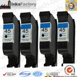 خراطيش حبر HP45 51645A HP45 أسود HP45 أرجواني HP45 أصفر HP45 سماوي