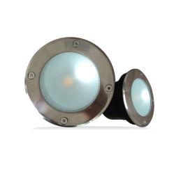 IP65 d'Éclairage extérieur LED ronde enterré Inground lumière avec ce/RoHS approbation