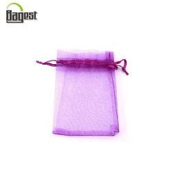 Barato Jóias Simples acondicionamento Cordão Organza Doces de casamento dom sacos bolsa com fita