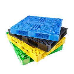 La norme ISO EN PEHD Grande palette plastique réversible empilable avec usine directement à la vente à prix compétitif