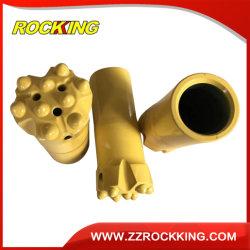 T45t51 Herramientas para perforación de roca de carburo de tungsteno Buttonbit rosca