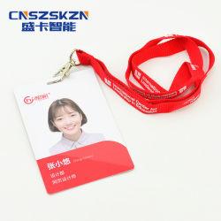 Полный цветной разрешение на работу пользовательских печать фото пластиковых ПВХ ID Visa