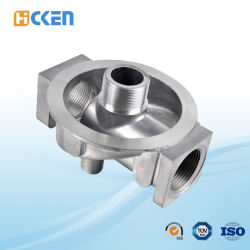 Custom Precision Investment Casting Roestvrijstalen Driewegconnector