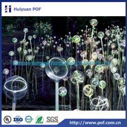 Lustres à fibre optique pour la décoration