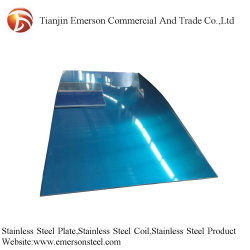 Decorativa fábrica 430 316L color acero inoxidable 304 de la placa de la hoja de precios por kg.