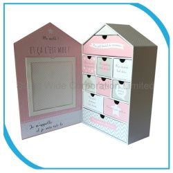 2018 Art Paper Box avec maison Type/l'emballage personnalisé boîte cadeau
