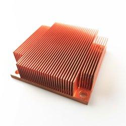 Custom медных Skived Fin радиатор для лабораторной работы Euqipment