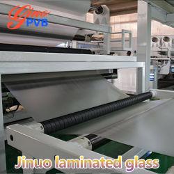 Fabricado na China Bulletproof Grau de butiral de vidro laminado transparente