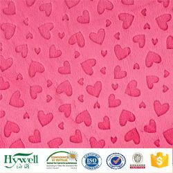 Tissu Velboa Minky DOT Micro pour bébé Blanket