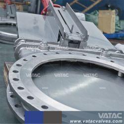 Bolacha & Espigão de ferro fundido ou aço inoxidável chorume elétricas e pneumáticas Porce válvula gaveta da faca