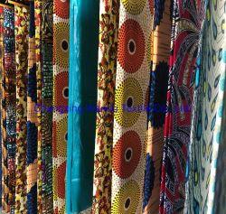 Pano de Cera de imitação africana, várias cores de flores, fabricante de exportação chineses Changxing Wandu produtos têxteis