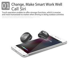 Téléphone mobile écouteurs sport étanche écouteurs écouteurs mains libres pour les téléphones mobiles vrai écouteurs Bluetooth sans fil