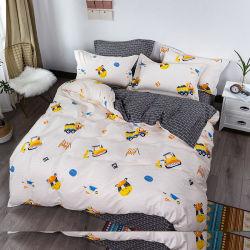 安い価格のAustriliaの熱い販売のアメリカの簡単な様式は袋で4 PCSのベッドを印刷した
