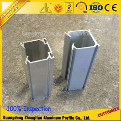Anodisierende Aluminiumspur T5 der China-Hersteller-6063 für Vorhang Rod