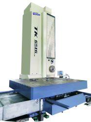 Tabla de CNC tipo Horizontal Molino de aburrido, aburrido Spingdle 110mm de diámetro, 130 mm TK6516