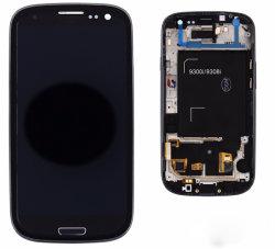 Pour Samsung S3 écran tactile LCD avec le châssis du numériseur