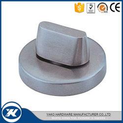 De aço inoxidável de alta qualidade, Ronda de vidro fechadura de porta com Parafuso Indicadora (YTT-005SS)
