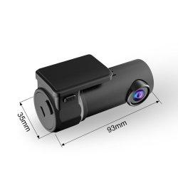 Nachtsicht DVR G-Fühler Dashcam des Auto-Gedankenstrich-Kamera-englischer Sprachsteuer1080p fahrender Selbstschreiber