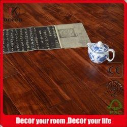 Rote Farben-Handkratzer-Akazien-Holz ausgeführter Bodenbelag