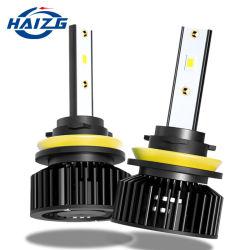 مصابيح LED الأمامية من هايزج للبيع الساخن 50 واط 10000lm 6000K H11 9006 Hb4 9005 Hb3 H3 H7 CANbus LED Light H4 نظام الإضاءة الأوتوماتيكية لمجموعة المصابيح الأمامية H1