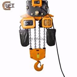 10 tonnellate di alta qualità della gru Chain di gru elettrica di Chiain con il carrello (HHBD-II-T 10T)