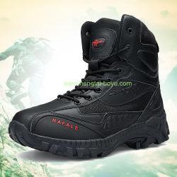 女性方法靴のマーティンのブートのプラットホームの靴の女性は女性金属のかかとの女性の冬の軍のブートの靴のためのブートをひもで締める