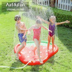 Neues Entwurfs-im Freienspiel-Wasser-Spielzeug-aufblasbare Erdbeere-Sprüher-Matte für Kind