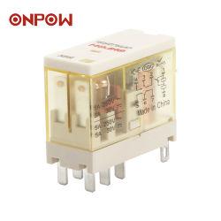 LEDの高温抵抗(ORJ2SL)のOnpow 8Aの一般目的のリレー