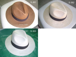 Ковбой соломы бумаги Панама Red Hat