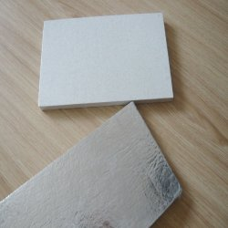 El apoyo de aluminio de la junta de fibra mineral