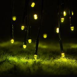 태양광 동력 실외 깜빡임 LED Firefly 조명 정원 장식