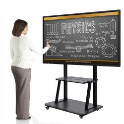 Kingone OEM 75 85 100-inch 20-punts touchscreen Smart Board Interactive TV Whiteboard Flat Panel digitaal interactief beeldscherm Voor het klaslokaal