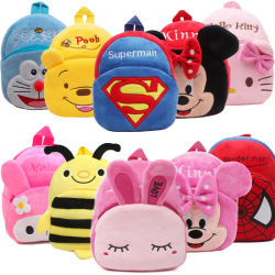 2020 Nuevo bebé Niños Infantes Anti-Lost Bag Bolsa infantil de dibujos animados Cute Animal Wholesale Mochila para niños 0-4 años la escuela primaria