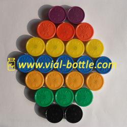 Flip off Tops colorés pour des raisons médicales des flacons d'injection de l'étanchéité (20mm)